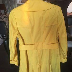 Via Spiga yellow raincoat - never worn with tags